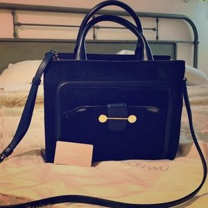 Jason Wu Emerald Green Pony Hair Daphne Bag